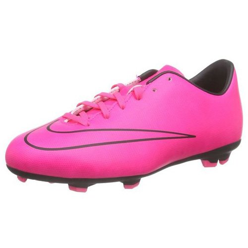 Nike Youth Mercurial Victory V Firm Ground Hyper Pink Black Hyper Pink 1 5y