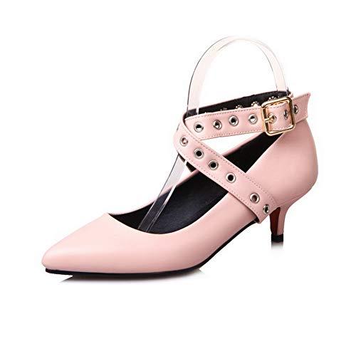 Rose Femme APL10446 EU Sandales Rose Compensées 36 5 BalaMasa 7XtfqxTwP7