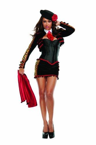 Starline Madrid Matador Sexy Women's Costume Set, Black, Large - Matador Costume Amazon