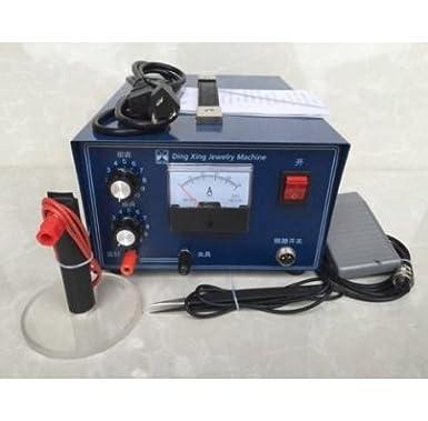 gr-tech Instrumento® 400 W 50 A jewelry Laser Soldador Mini csw6t - Oro y Plata 220 V o 110 V: Amazon.es: Industria, empresas y ciencia
