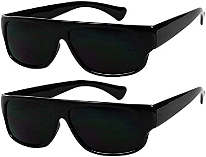 Eazy E BLACK SUPER DARK Lens Car Motorcycle Sunglasses Gangster