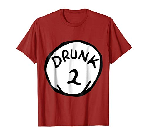 Drunk 2 Halloween Costume T-Shirt