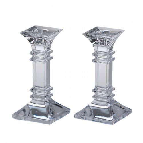 Marquis by Waterford Treviso 6-inch Candlestick Pair
