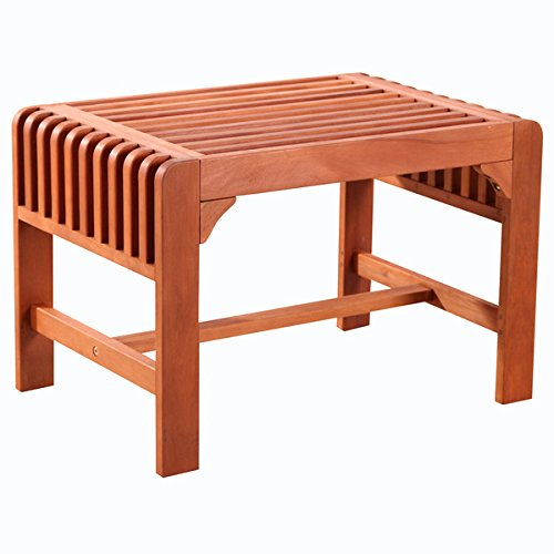 Backless Single Wood Outdoor ()