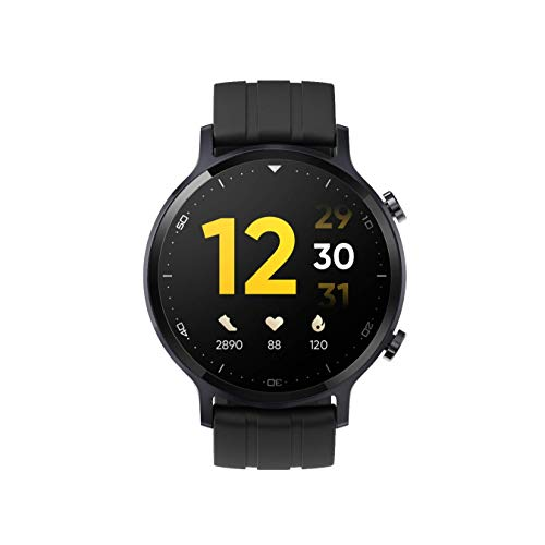 realme Watch S with 1.3″ TFT-LCD Touchscreen, 15 Days Battery Life, SpO2 & Heart Rate Monitoring, IP68 Water Resistance