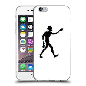 """Super Galaxy Coque de Protection TPU Silicone Case pour // V00000613 Zombi del vector de la silueta // Apple iPhone 6 4.7"""""""