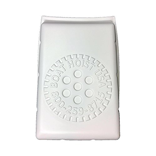 (BH-USA Logo Bright White Flat Plate Hoist Front Covers)