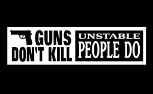 If babies had guns...they wouldn't be aborted bumper ... |Gun Bumper Stickers
