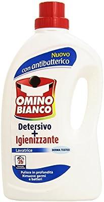 Omino Bianco - Detergente y desinfectante, para Lavadora, 1.95 L ...