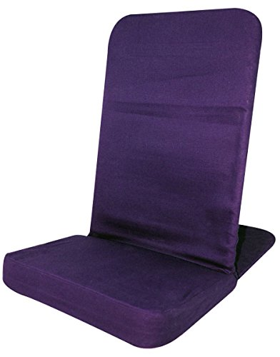 (Back Jack Floor Chair (Original BackJack Chairs) - Standard Size (Purple))