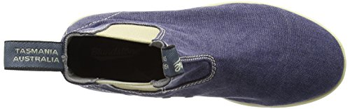 Blundstone Ankle Canvas Navy Unisex Adults' Boots Blue 80q8r