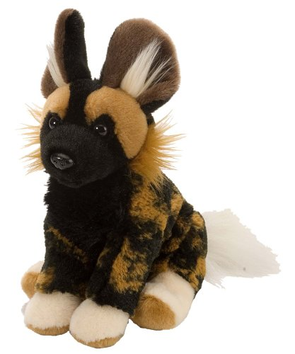 41SiNctHWlL - Wild Republic African Wild Dog Plush, Stuffed Animal, Plush Toy, Gifts for Kids, Cuddlekins 8 Inches