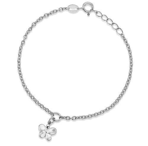 Lily & Lotty - Bracelet - Argent - 925/1000 - Blanc - Diamant - Enfant