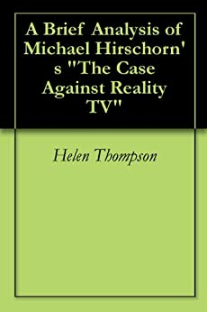An analysis of the ways television distorts reality