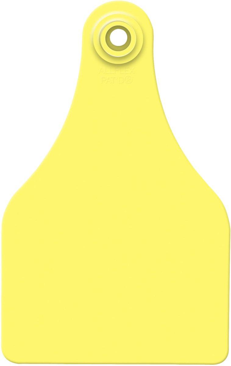 Allflex Usa GSXF/GSMY 319278 Ear Tag, Blank, Yellow, Super Maxi by Allflex Usa (Image #1)