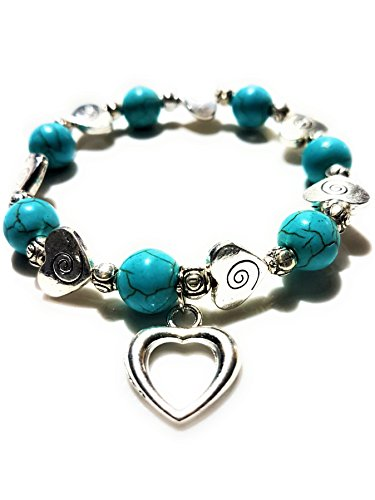 Nick Angelo's Love Heart Bracelet Jewelry Vintage Look Versatile Design Created ()