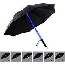 LED Umbrella | YIER Lightsaber Light Up Umbrella | 7 Color Changing | Golf Umbrellas | Umbrella Windproof | Umbrella Kids Men