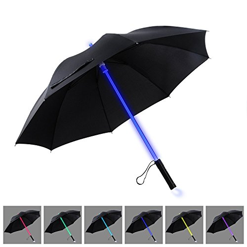 LED Umbrella | YIER Lightsaber Light Up Umbrella | 7 Color Changing | Golf Umbrellas | Umbrella Windproof | Umbrella Kids - Dodgers Sunglasses