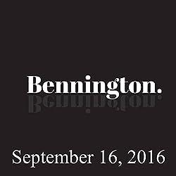 Bennington, September 16, 2016