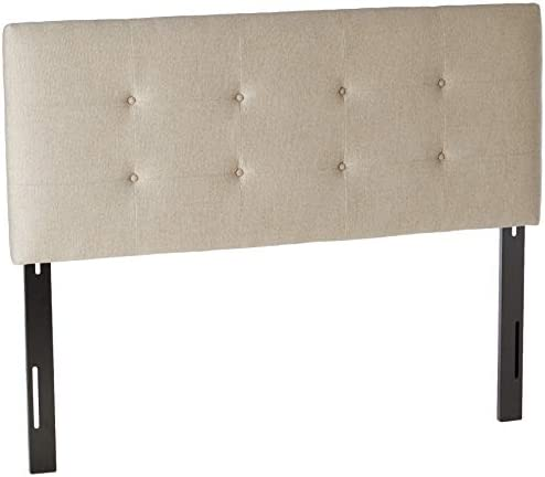 Sole Designs Ali Collection Padded Adjustable Queen Sized Upholstered Bedroom Headboard