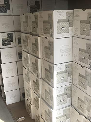 Preserve Brands 3pc Artisan Desk Storage Orgaization Set (Navy)