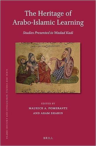 The Heritage of Arabo-Islamic Learning: Studies Presented to Wadad Kadi