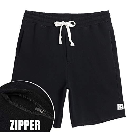 (MaaMgic Men's Casual Classic Shorts 100% Cotton 7