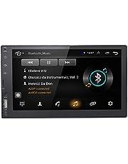 Universal 2 Din 7 inch touchscreen auto autoradio GPS navigatie Android 9.0 OS in Dash Multimedia Player WiFi BT ondersteuning FM/DAB + / digitale TV / OBD2 / DVR / TPMS / 4G netwerk