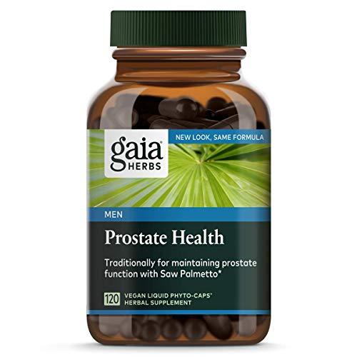 Gaia Herbs Prostate Health Liquid Phyto-Capsules, 120 - Mens 120 Caps