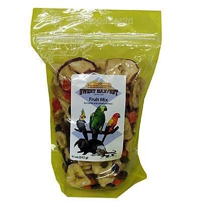 Sweet Harvest Fruit Mix 11 Ounce Bird and Small Animal Treat
