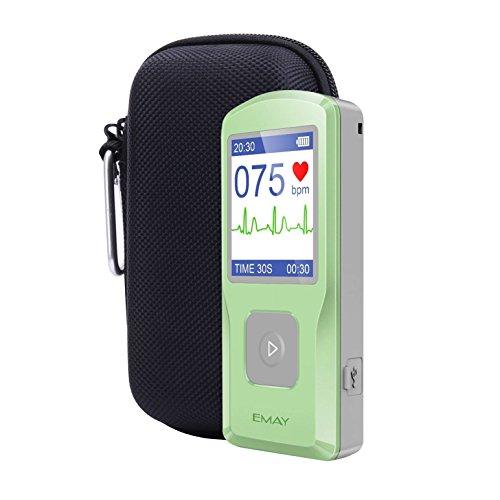 Aenllosi Hard Case for Facelake FL-10 /Emay/Contec/HealthWood Handheld ECG/EKG Monitor with Pill Organizer