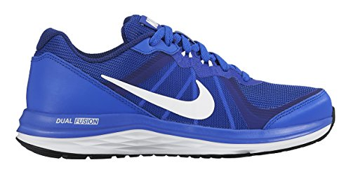 Nike Dual Fusion X 2 (Gs), Zapatillas de Running para Niños Azul / Blanco (Racer Blue / White-Dp Ryl Bl-Wht)
