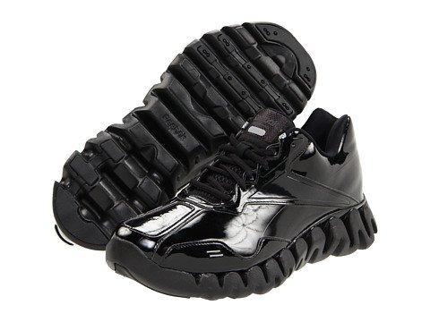 Reebok Men's Zigenergy Referee Shoes, Black (Black Patent Leather, 12)