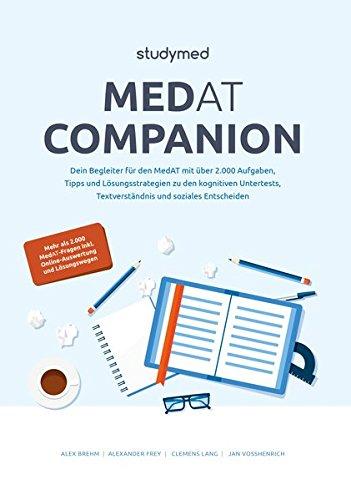 MedAT Companion - Dein Begleiter zur Vorbereitung auf den MedAT 2018 mit über 2.000 Übungsaufgaben