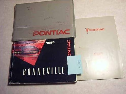 1995 pontiac bonneville owners manual pontiac amazon com books rh amazon com 2003 Pontiac Bonneville 1993 Pontiac Bonneville
