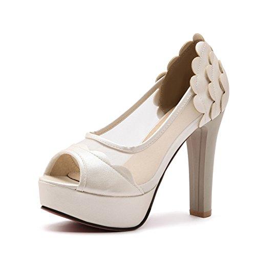 Cuero de de Mujer sint Zapatos Zapatos Cuero Mujer TS85Aqwvq