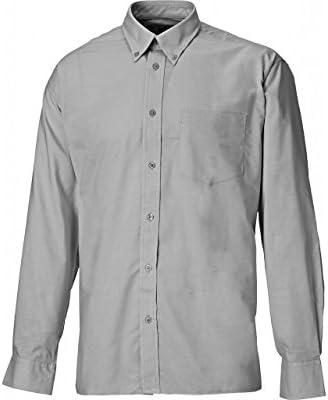 Dickies SH64200-SG-18 Oxford - Camisa de manga larga (talla 18), color gris: Amazon.es: Industria, empresas y ciencia