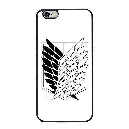 Attack on Titan iPhone 6 plus Case,Attack on Titan Cover Case for iPhone 6 plus/6s plus 5.5