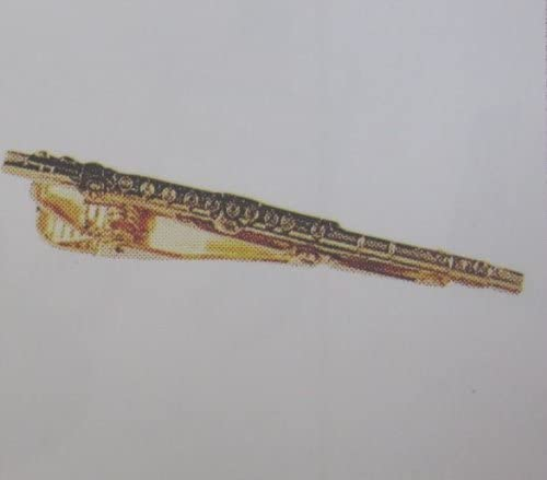 [해외]나카노 스탠다드 태국 바 플루트 골드 MM-80TFLG / Nakano Standard Tie Bar Flute Gold MM-80TFLG