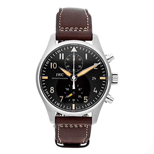 - IWC Pilot Mechanical (Automatic) Black Dial Mens Watch IW3878-08 (Certified Pre-Owned)