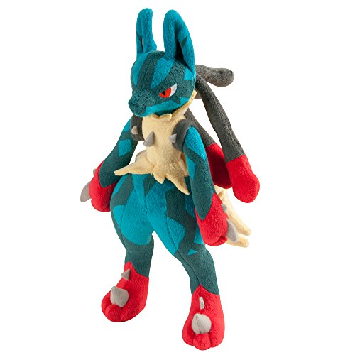 Pokemon-Mega-10-Lucario-juguete-de-felpa