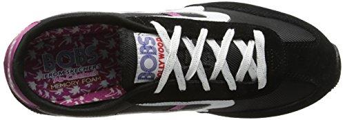 A partir de la puesta del sol Skechers Bobs la manera de la zapatilla de deporte Black