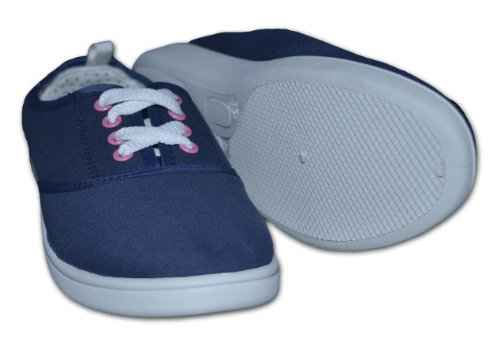 Red Tag , Chaussures de ville à lacets pour femme - Bleu - Bleu marine, 7 UK