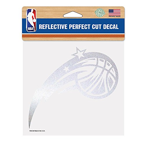 Orlando Magic Decal (NBA Orlando Magic Perfect Cut Reflective Decal, 6 x)