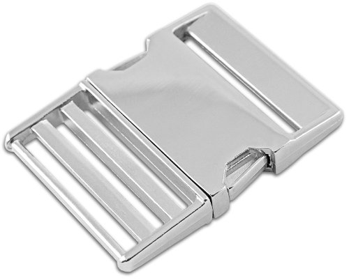 Country Brook Design 1-2 Inch Metal Side Release Buckle