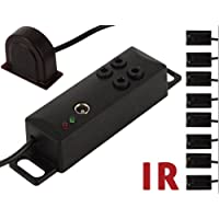 Sewell IR Repeater Kit, 4 Dual Emitters (Control 8 Hidden Devices)