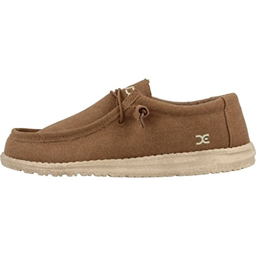 Hey Kerel Mens Wally L Schoenen Bruin