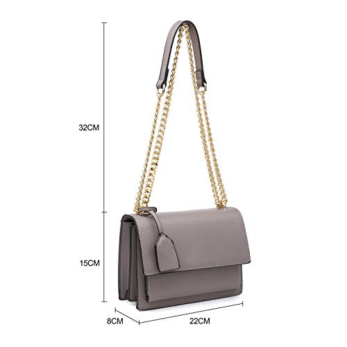 Ladies Long Craze Design Multi New Shoulder Envelop Bag Plain London Strap pocket black Shoulder Women Bags qrwUzvnq
