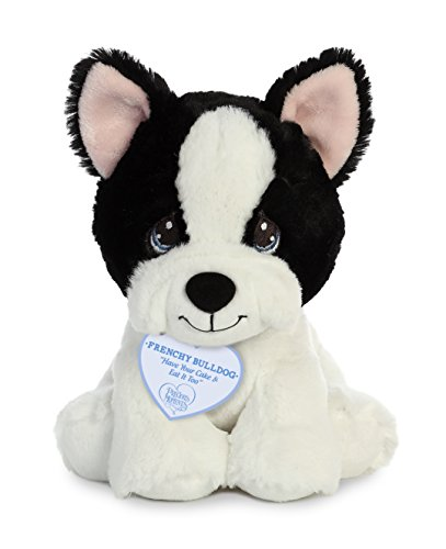 - Aurora World Precious Moments Frenchy Bulldog Plush, Black&White