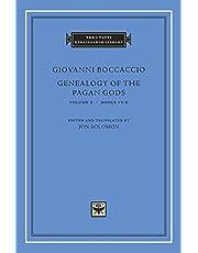 Boccaccio, G: Genealogy of the Pagan Gods, Volume 2 (The I Tatti Renaissance Library)